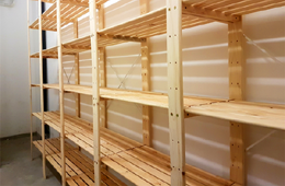 Mak-Rak Timber Shelving