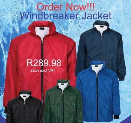 Remington Supplies - MAC Wind Breaker Jackets Special